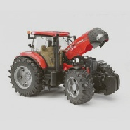 Toy red tractor